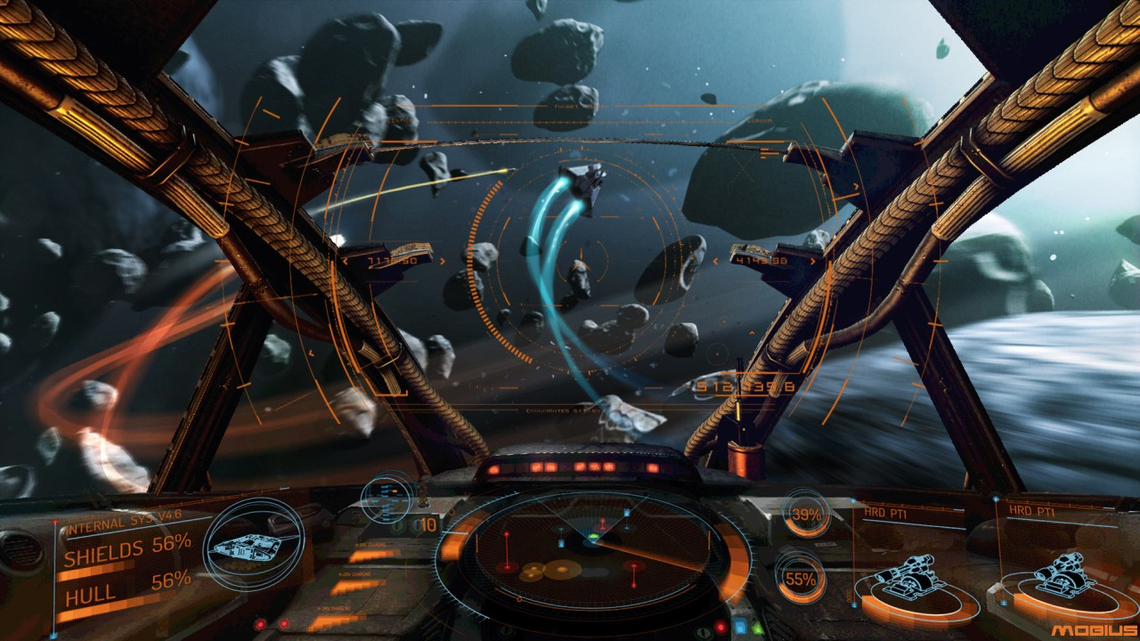 Elite: Dangerous boasts an excellent flying simulation.